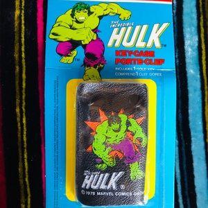 Vintage The Incredible Hulk Key Case